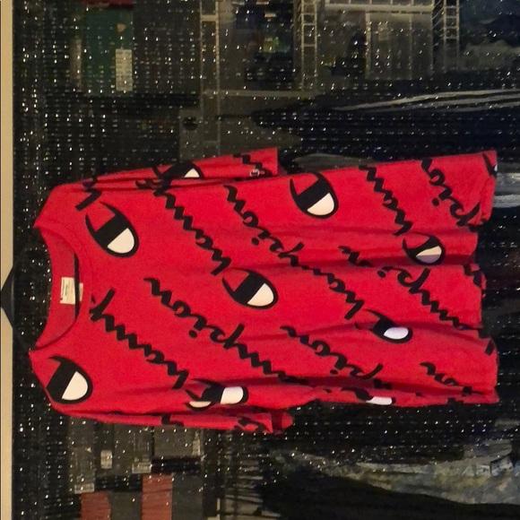 1bcdfb21a Champion Shirts | Explode Script Red Tshirt | Poshmark